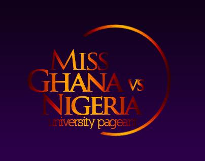 Miss Ghana vs Nigeria