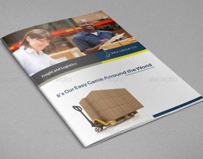 Company Brochure Logistic Template Vol.21