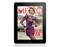 Metro Magazine Philippines iPad App - November 2010