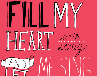 Fill My Heart - Valentines Card