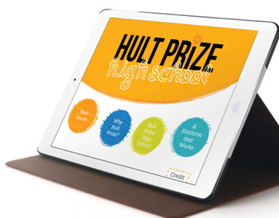 Hult Prize High School Presentation App