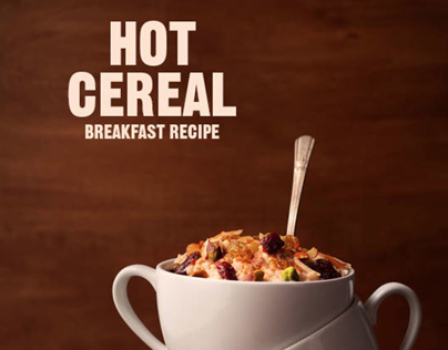 FOOD: Hot Cereal Breakfast