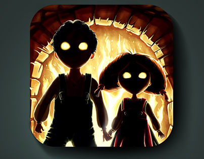 IOS Icon of Hansel and Gretel