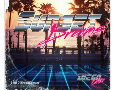 80's Beach & Palm Trees