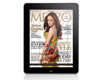 Metro Magazine Philippines iPad App - December 2010