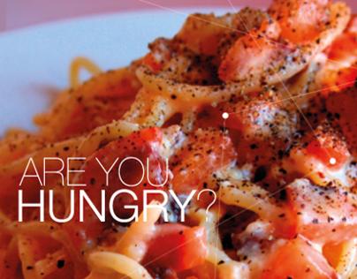 Are you hungry?   Spaghetti alla Carbonara