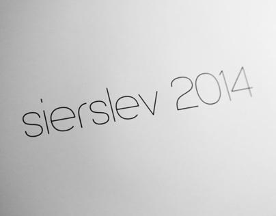 sierslev2014 font [working title]