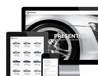 PRESENTER - Multi Purpose Showcase