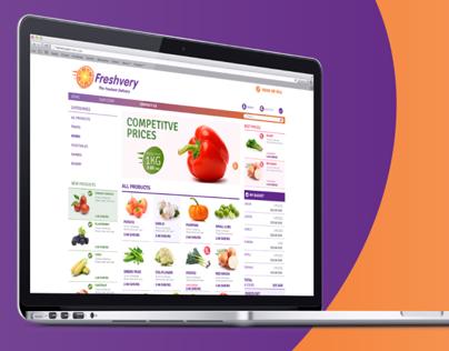 Freshvery Website