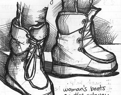 Sketchbook Drawings - Ideation