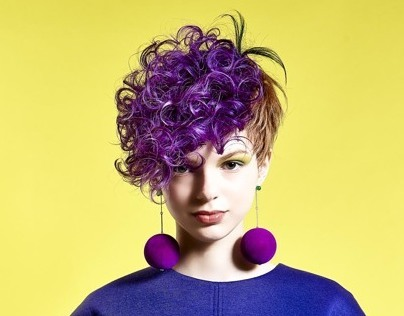 The hair design which is fruit