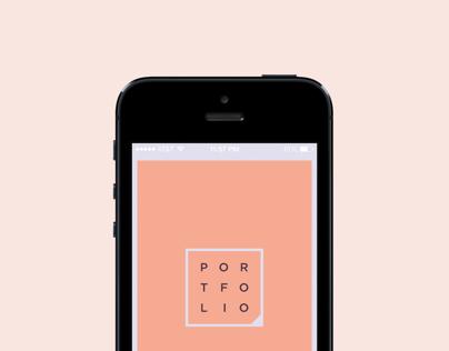 Personal Portfolio App