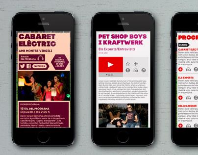 Three websites (iCat.cat, José Andrés and vora)