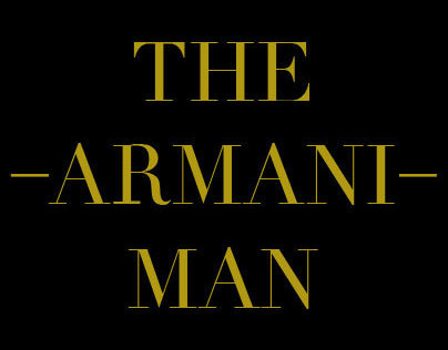 Giorgio Armani Fragrances - The Armani Man