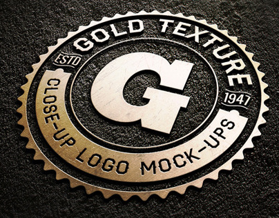 10 Close-Up Logo Mock-ups