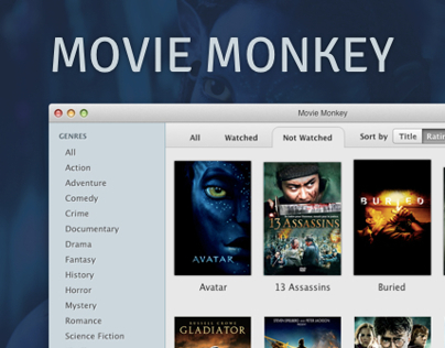 Movie Monkey - Movie Management App