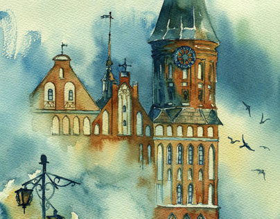 Architecture in watercolor 2013