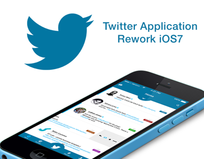 Twitter Application Rework iOS7