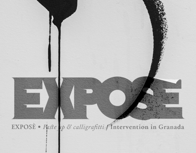EXPOSÉ • Paste up & Calligraffiti