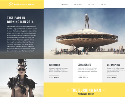 Burning Man - Redesign