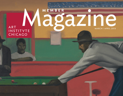 Art Institute of Chicago Member Magazine