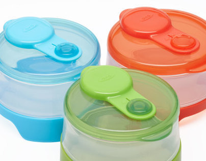 TOT Stackable Formula Containers
