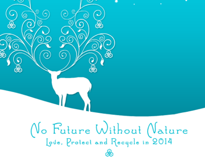 Lab - E-card // New year 2014