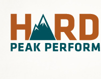 Hardie Peak Performance branding