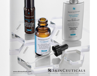 Advertising campaign for SkinCeuticals