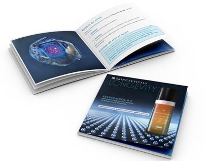 SkinCeuticals brochure for Resveratrol B E