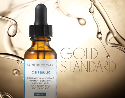 Core visual for SkinCeuticals C E Ferulic campaign