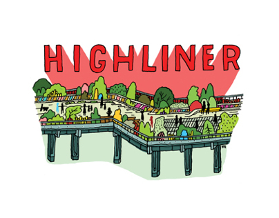 HIGH LINE maps and spots
