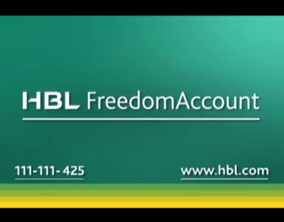HBL Freedom Account  TVC