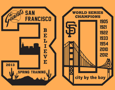 San Francisco Giants T-Shirt Design