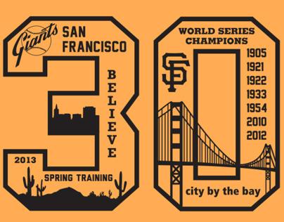 San Francisco Giants T-Shirt Design