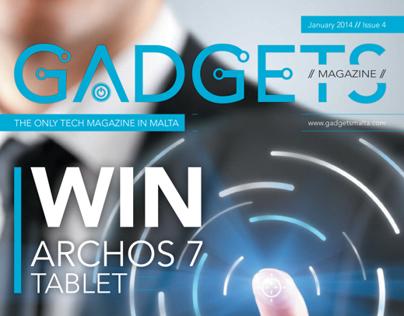 Gadgets Magazine Cover Idea