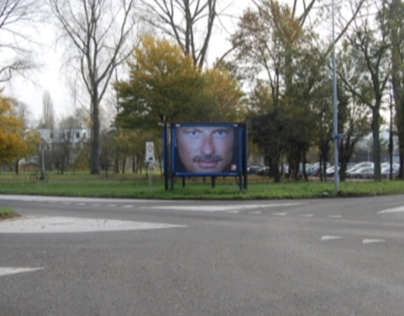Movember billboard