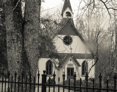 Christ Church Episcopal in Historic Rugby Tennessee