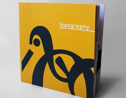 Typography Exploration Book