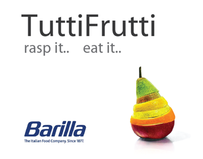 TuttiFrutti. Rasp it..  Eat it..