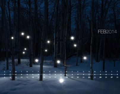 2K14 Desktop Calendar