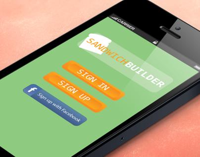 Sandwich Builder App