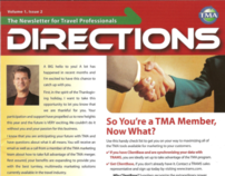 Printed Newsletter - Directions