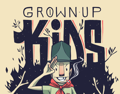 Grown Up Kids Tee 1