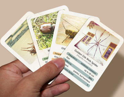 Creepy Crawly Cards