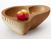 Fruit bowl 128 | wood
