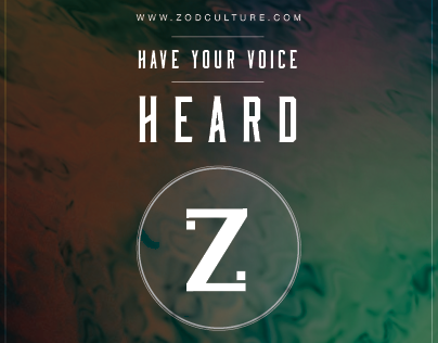 ZOD Culture Have Your Voice Heard