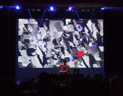 JON HOPKINS LIVE VISUALS