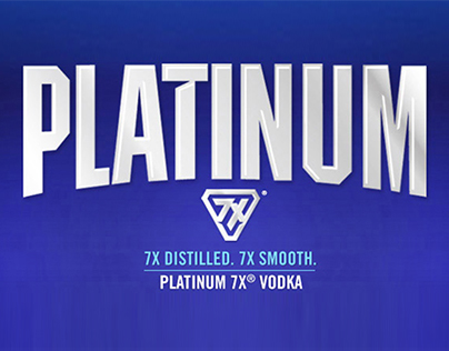 Platinum7X Vodka Website