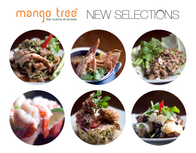 Mango Tree New Menu Selections 2014